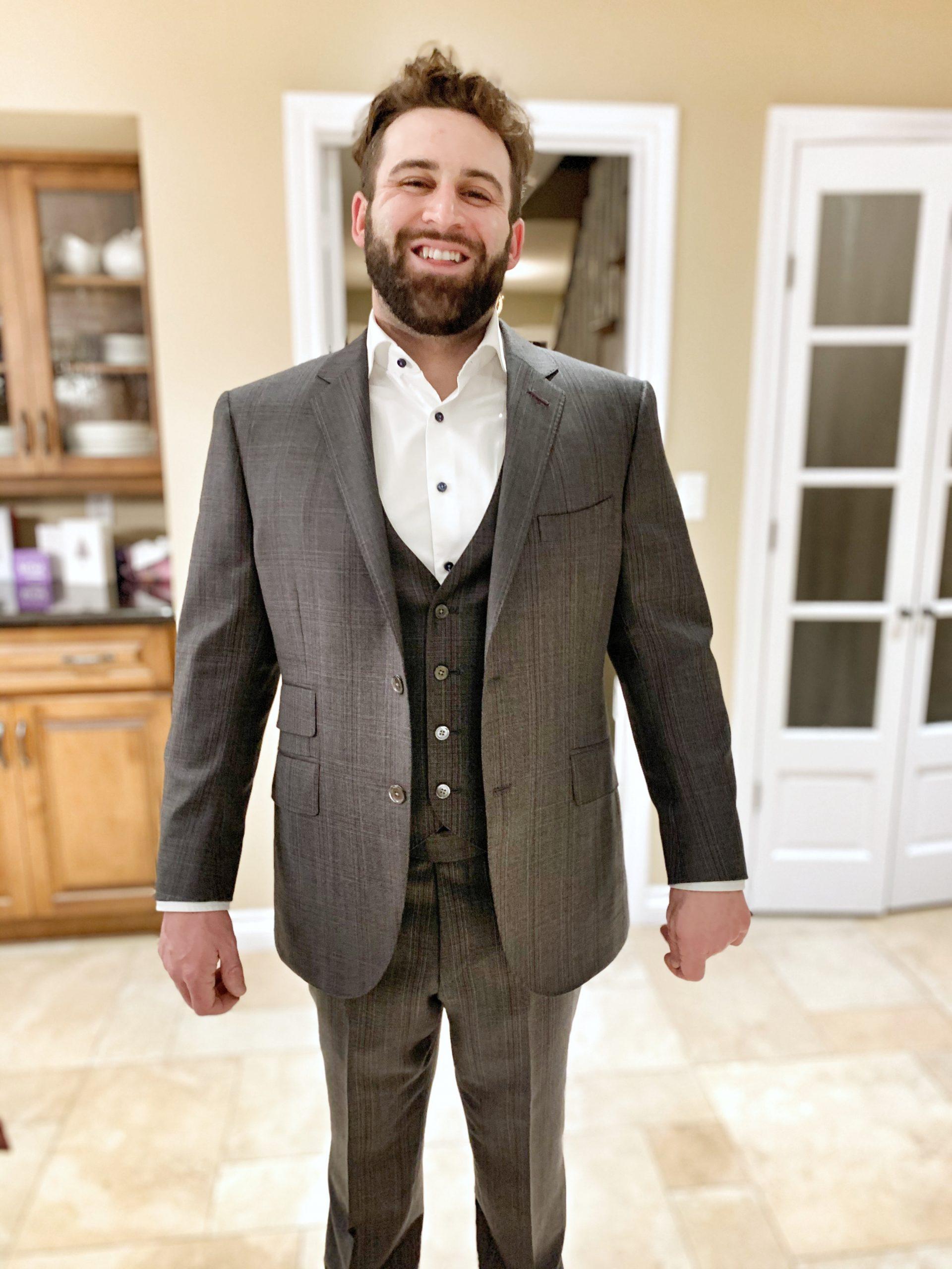 Scabal Bespoke Suit Hamilton Ontario