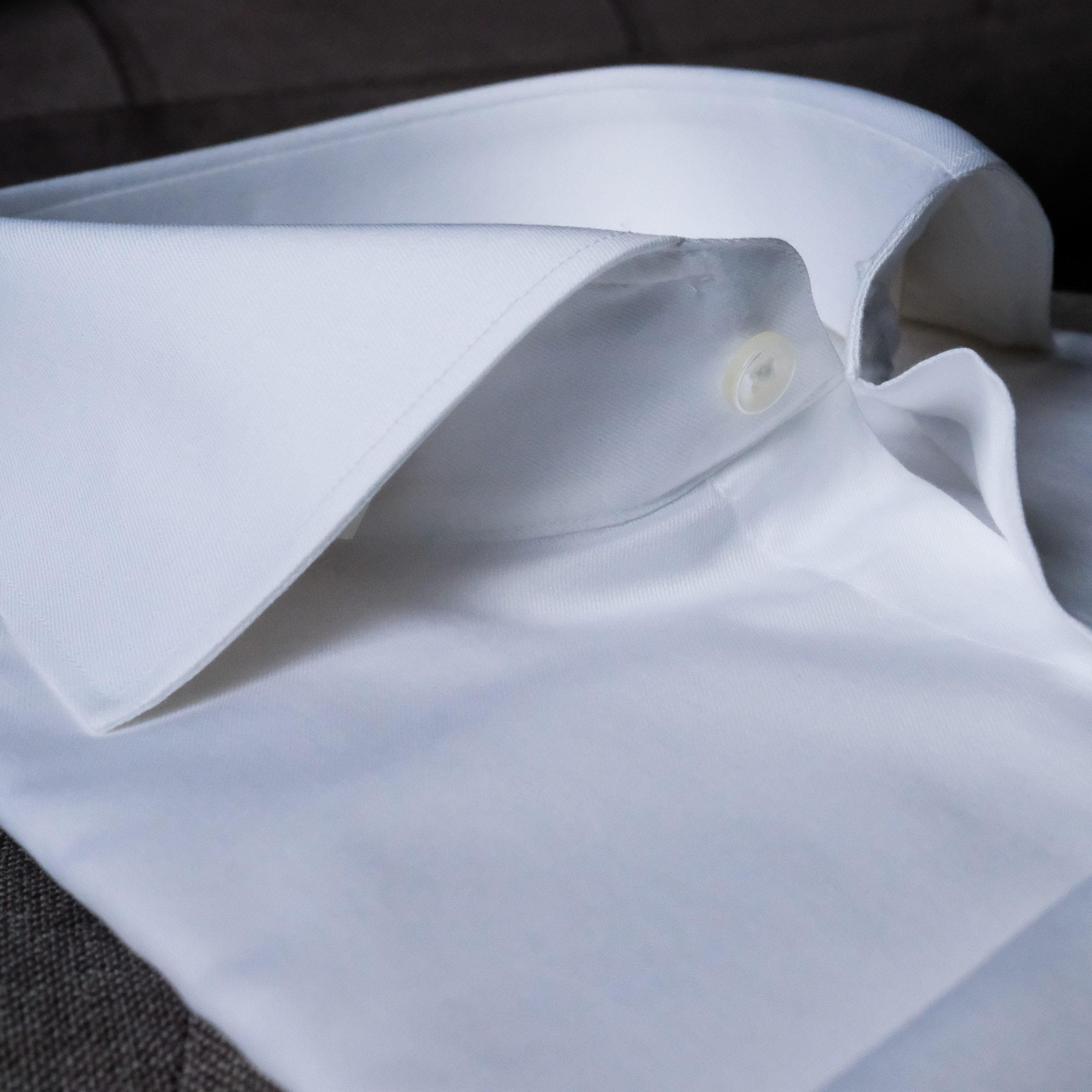Egyptian Cotton White Dress Shirt