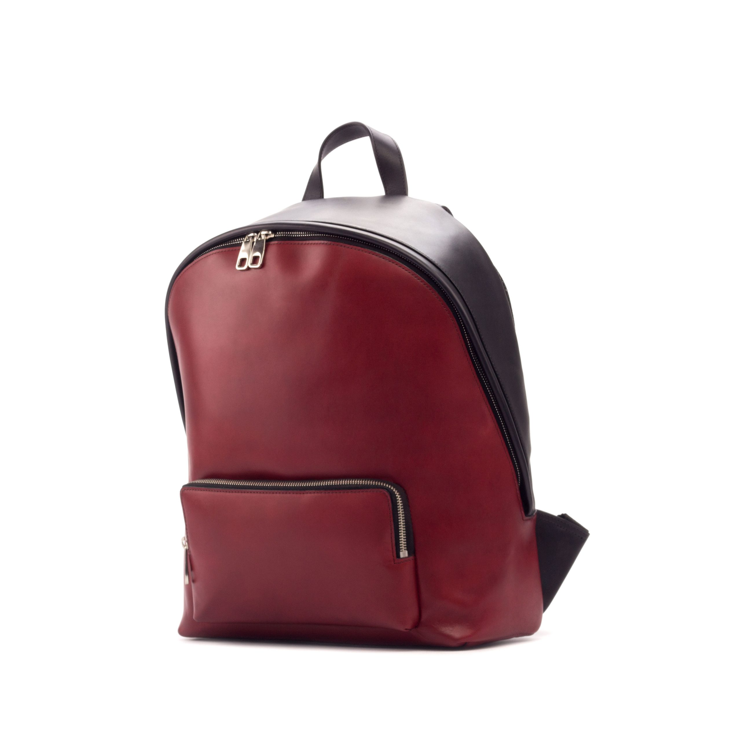 Back Pack - Painted Calf Red And Black-Ang2