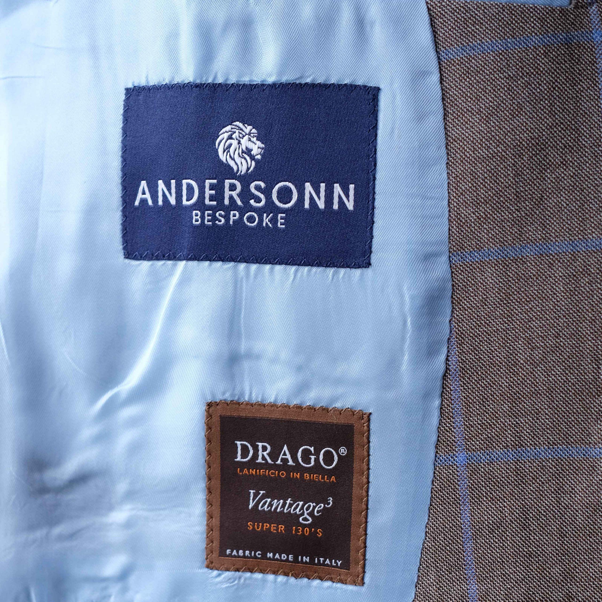 Andersonn Bespoke Label - Drago Biella Italy
