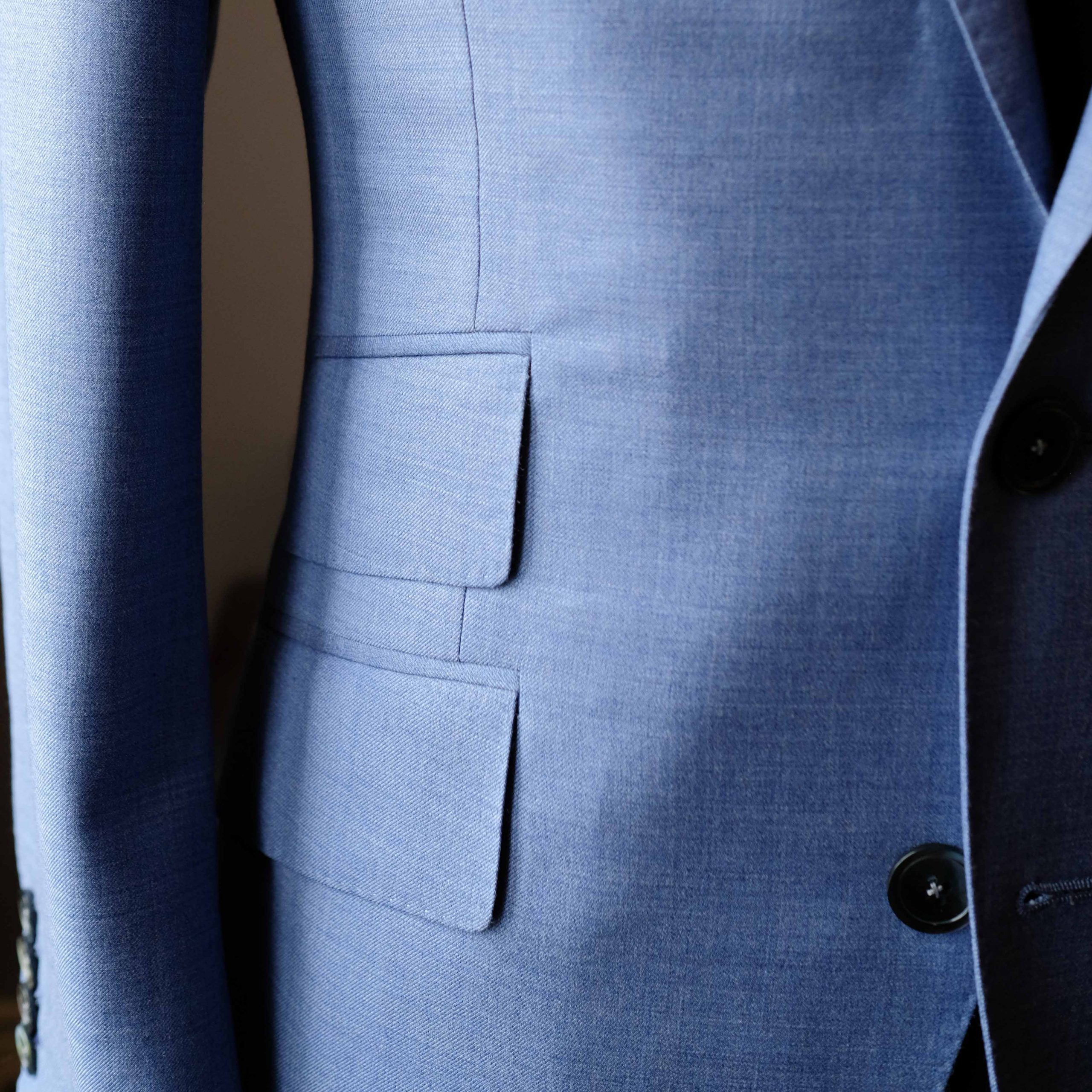 Bespoke Suit Jacket - Ticket Pocket - Toronto
