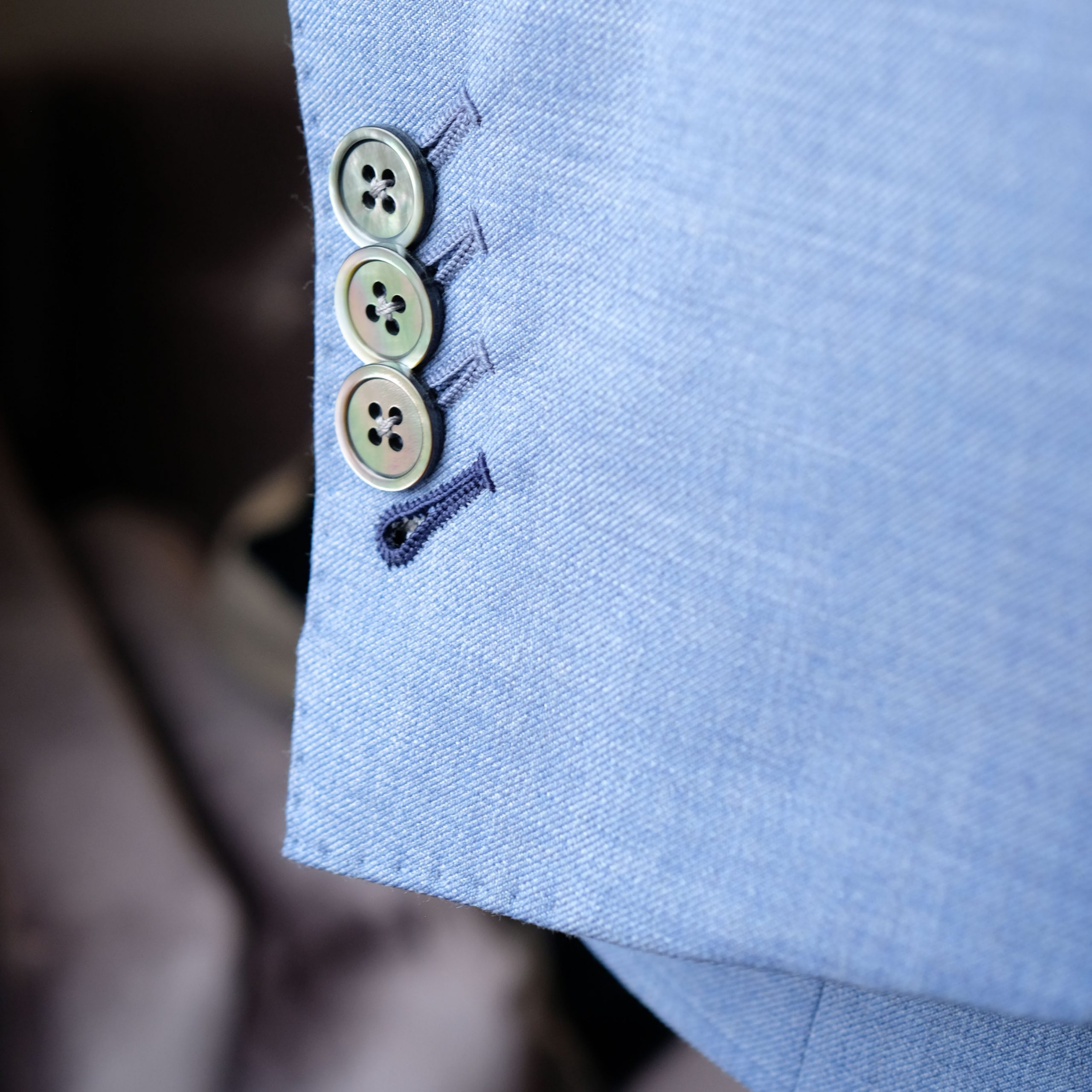 Shell Buttons with Surgeons Cuffs
