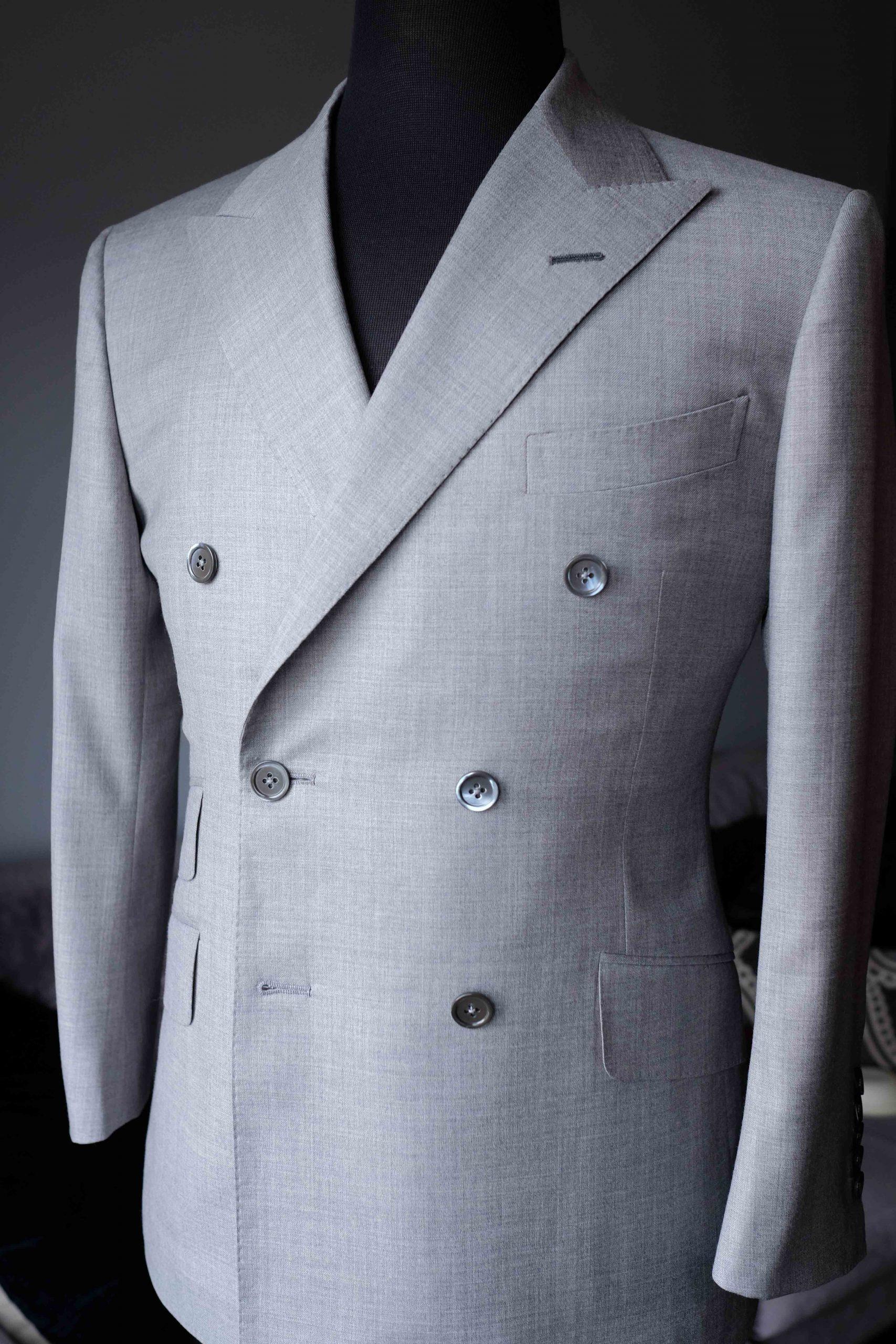 Grey Double Breasted Suit - Cerruti - Toronto