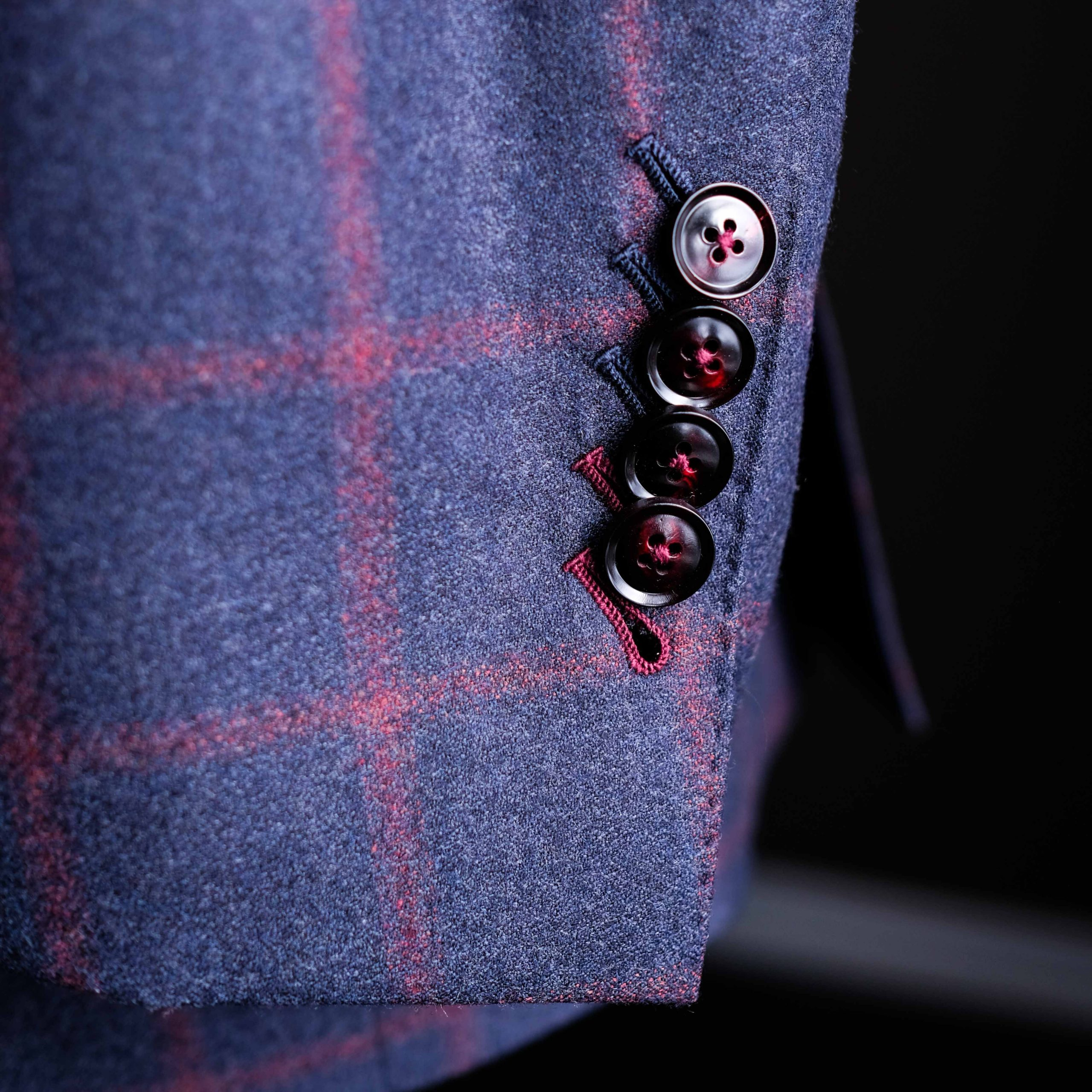 Functioning Buttons on Suit Jacket Sleeve