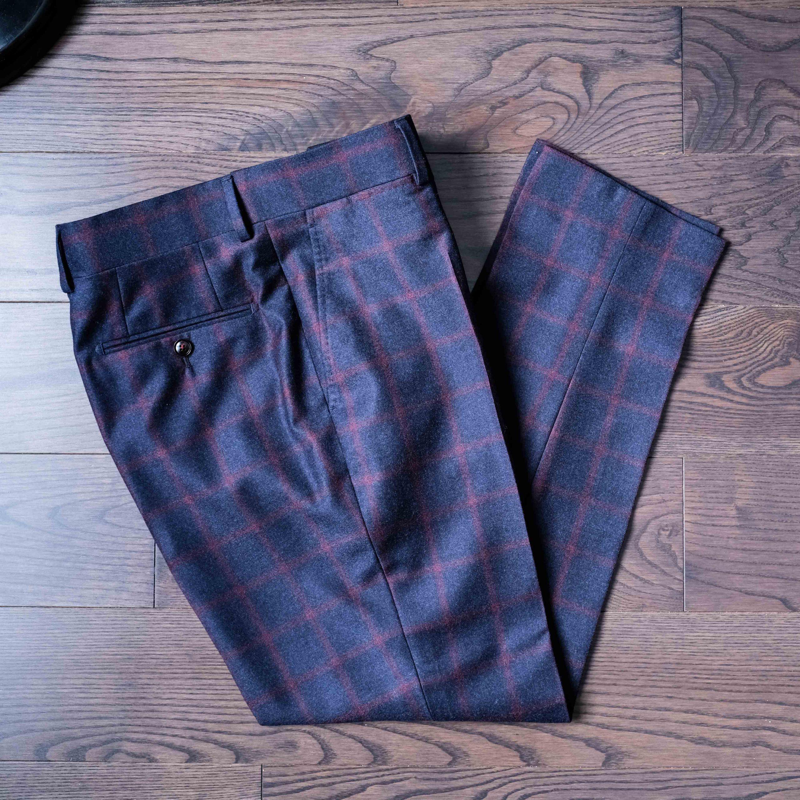 Bespoke Tailored Trousers