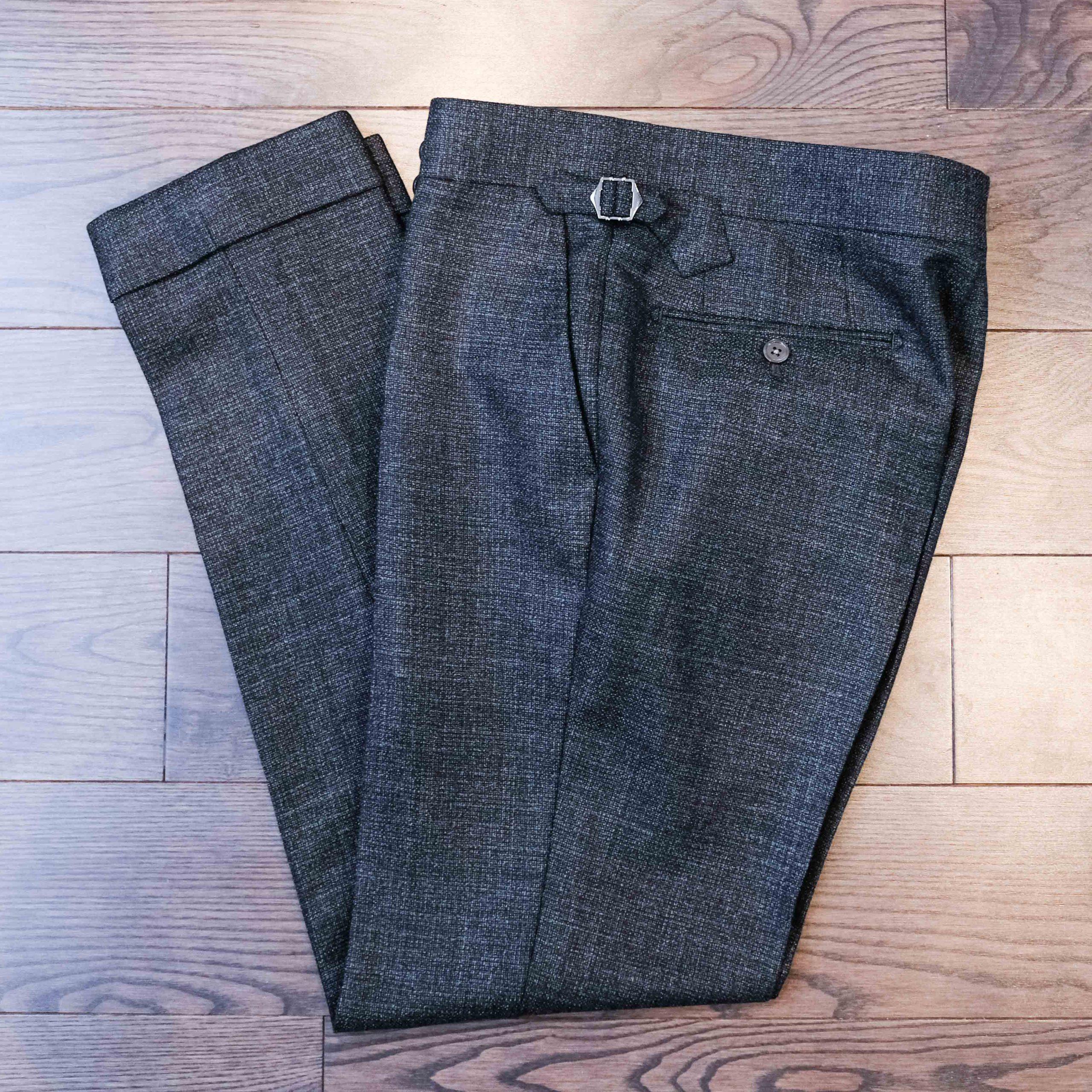 Grey Bespoke Trousers