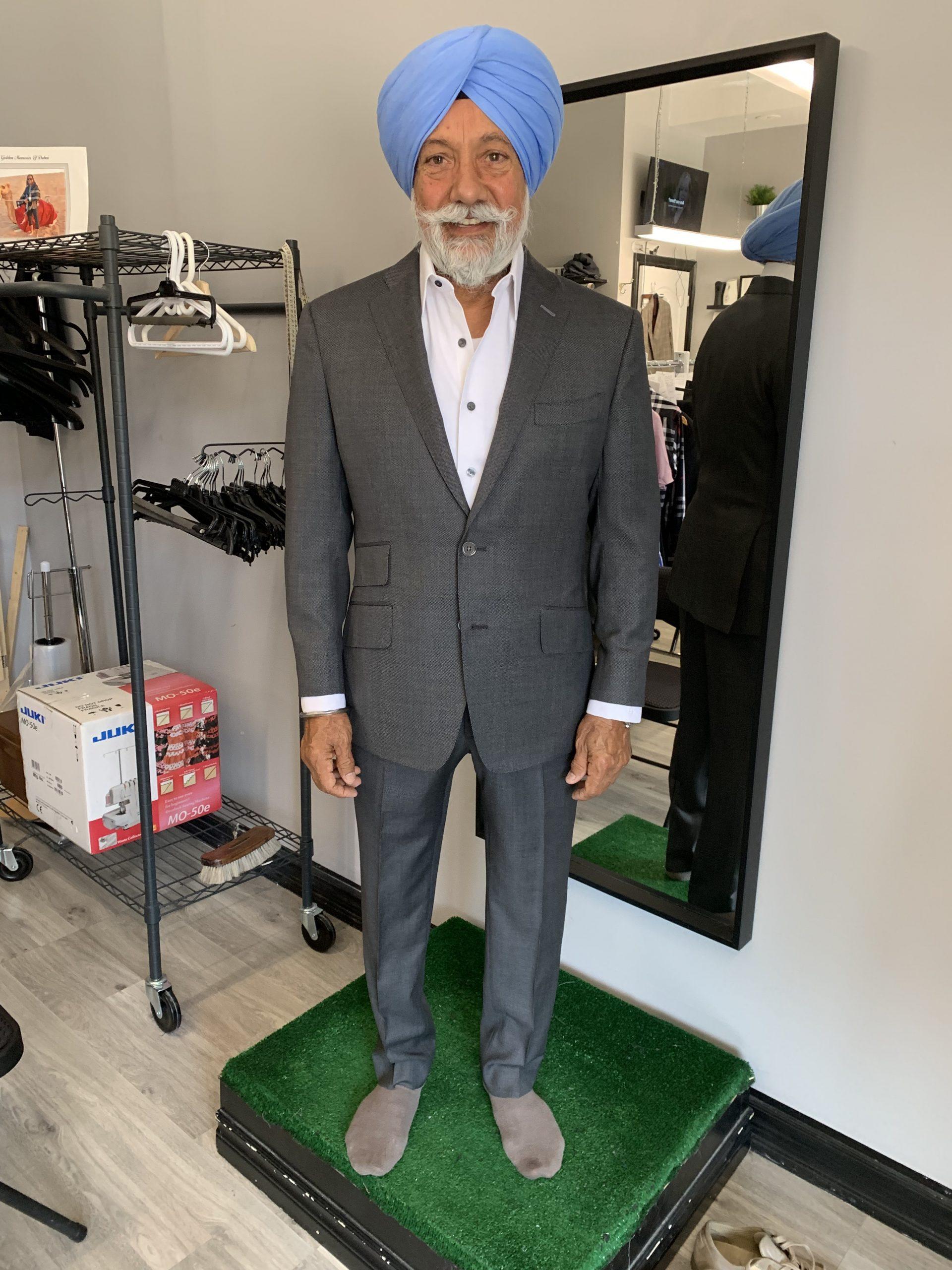 Andersonn Bespoke Suit Fitting in Brampton